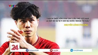 Những chuyến xuất ngoại đầu tiên trong năm mới của bóng đá Việt Nam | VTV24