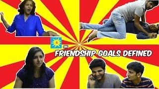 Minus Two: Friendship goals defined