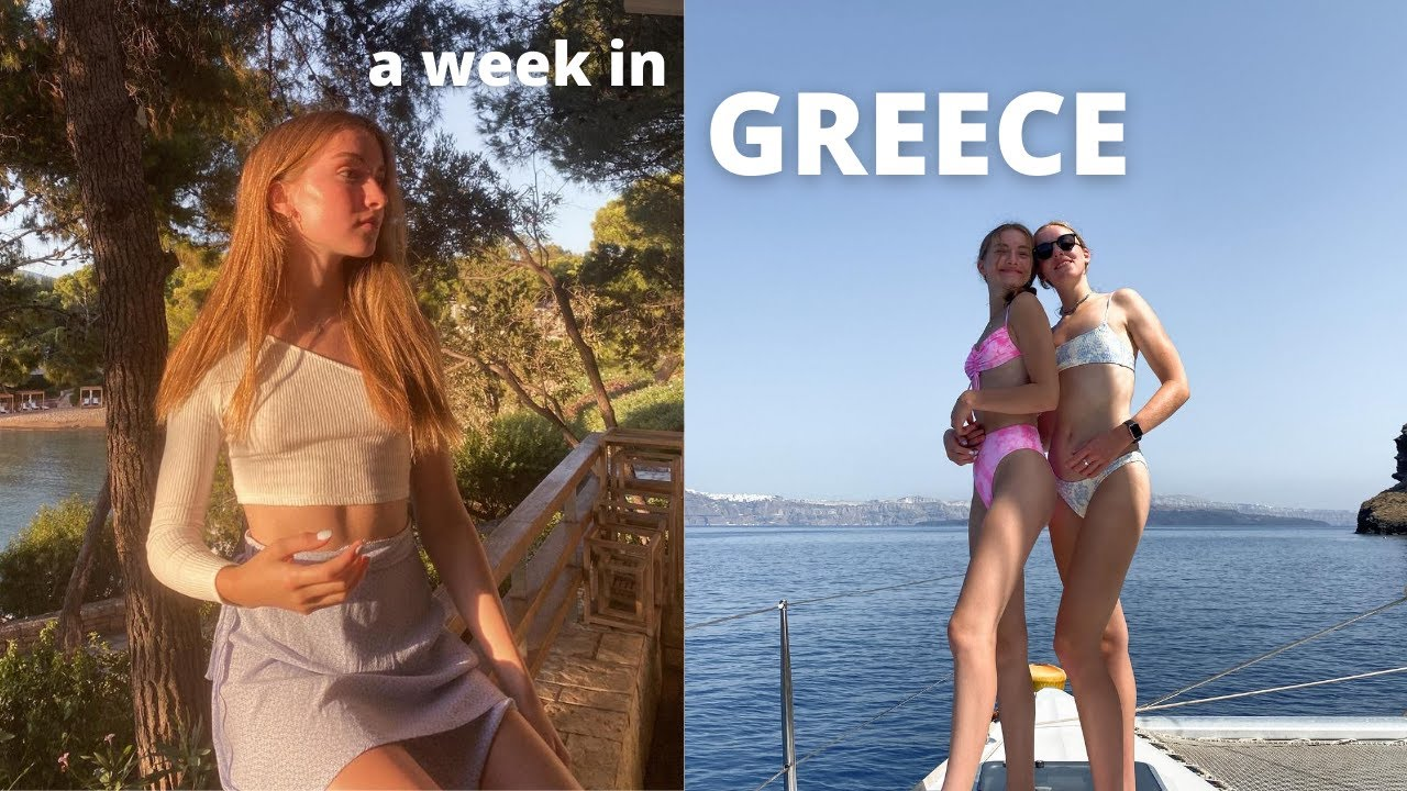 traveling to greece: santorini and athens!