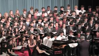 Lamentations of Jeremiah by Z. Randall Stroope, ISC Choir 2015