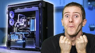 Ultimate $20,000 Dual System Build - Corsair Slate Part 2