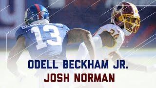 Odell Beckham Jr. vs. Josh Norman | Redskins vs. Giants | NFL Week 3 Player Highlights