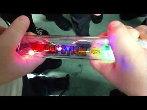 Human Electricity Energy Stick Circuit Experiment