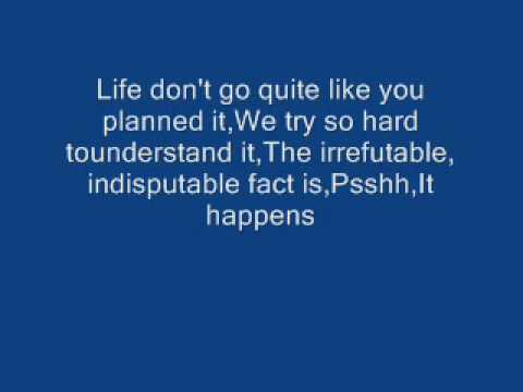 Sugarland- It Happens lyrics
