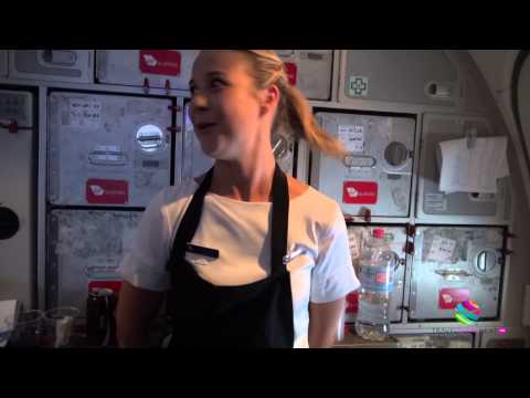 Virgin Airlines cabin crew: reality video blog