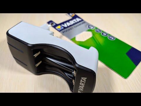 Распаковка зарядного устройства Varta Pocket Charger 57642 из Rozetka.com.ua