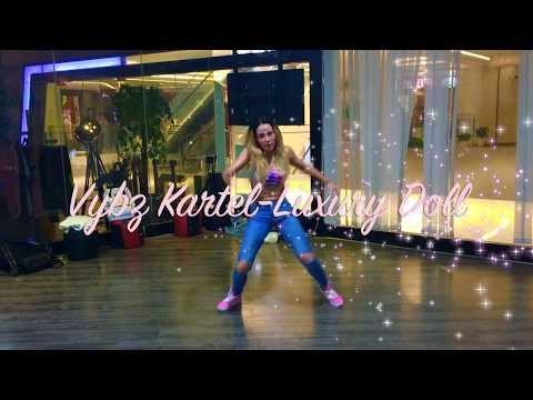 LUXURY DOLL - VYBZ KARTEL | Choreography Shugarimma