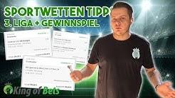 Sportwetten Tipps Vorhersagen für die 3. Liga 02.06.2020 + Gewinnspiel | King of Bets #Sportwetten