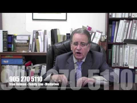 Mississauga Lawyer Stan Gelman Family Law - Mediation