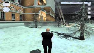 """Hitman 2 Silent Assassin mission 5   """"Invitation to a party"""""""