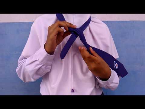 tutorial memakai dasi simple