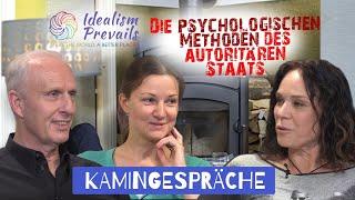 Die psychologischen Methoden des autoritären Staats: Propaganda, permanente Angstmache & Repression