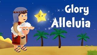 Glory Hallelujah (chanson de Noël pour petits avec paroles)