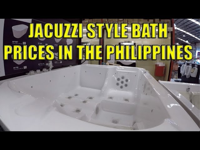Jacuzzi Style Bath Prices In The Philippines Youtube