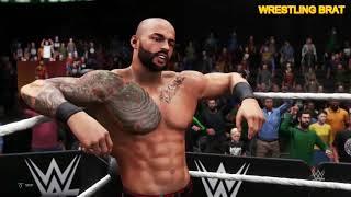 Ricochet Vs Kassius Ohno - WWE Gameplay PS4 (WWE 2K20)