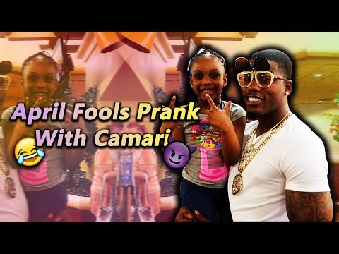 April Fools Prank With Camari On Kids!