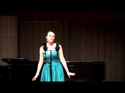 Rachel Avery Recital  Encore: Prima Dona and Nice Work