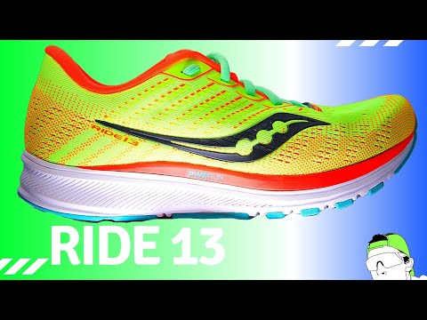 Stout, Plush, Durable: Saucony Ride 13 Daily Trainer