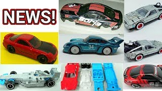 2018 Hot Wheels: What To Expect In The Next Wave Of Cars - Upcoming Models, Proto And More