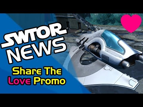 SWTOR News - Share The Love Promo