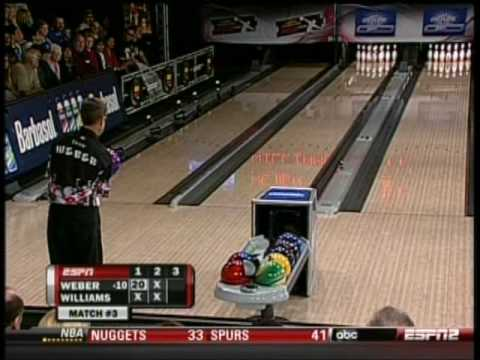 2010 Pete Weber vs Walter Ray Williams Jr. Part 1