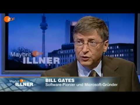 """""""Erfolge deutlich machen"""" - Interview mit Bill Gates aus """"Maybrit ILLNER"""" 28.1.2010"""
