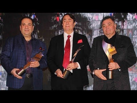 Raj Kapoor Awards for Excellence in Entertainment 2018 | Rishi Kapoor, Randhir Kapoor, Rajiv Kapoor