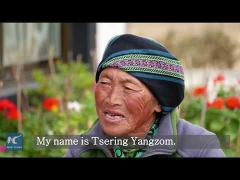 """I feel very happy to live here"" Tsering Yangzom's sweet twilight years"