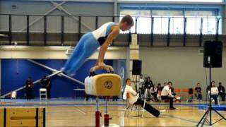 Pommel Horse routine at the Canada Games Centre
