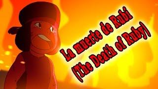 Steven Universe Comic - La muerte de Rubí (the death of Ruby)