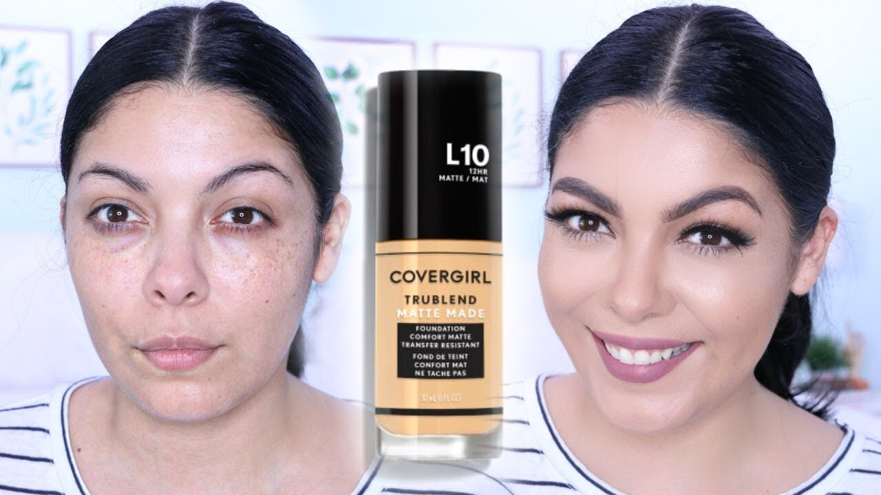 covergirl trublend foundation review