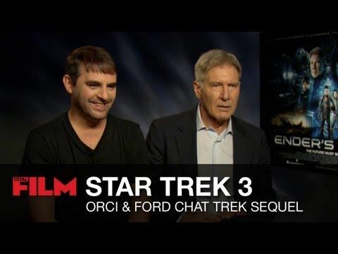 Roberto Orci talks Star Trek 3, casts Harrison Ford