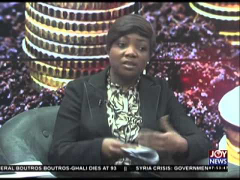 Microfinance saving and loan - My Banner on Joy News (17-2-16)