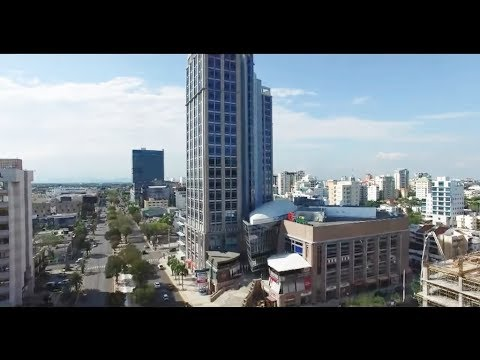 Santo Domingo Dominican Republic city 2016 drone documentary