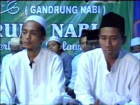 Yaa rosulullah yaa Nabi - GANDRUNG NABI - Gambiran. Jipang. 01 Juni 2013