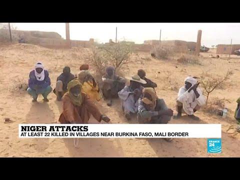 Gunmen kill at least 22 in latest Niger attack