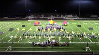Bellbrook Marching Eagles Put on a Happy Face Bellbrook Invitational