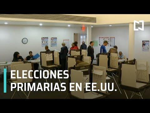 Inicia las primarias para elegir candidato demócrata en EEUU - Estrictamente Personal