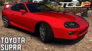 TEST DRIVE UNLIMITED 2 MODS: Toyota Supra Twin Turbo