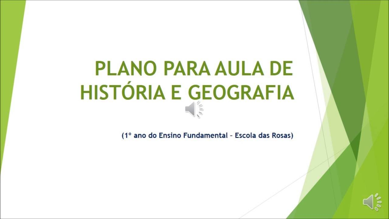 Well-known Plano de aula - Geografia e História - Claritiano - YouTube QZ74