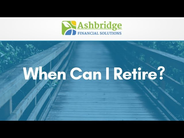 Coffee Break With Debbie Ash - When Can I Retire?