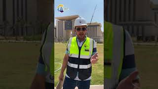 الحي الحكومي بالعاصمة الإدارية ومن قلب منطقة الوزارات