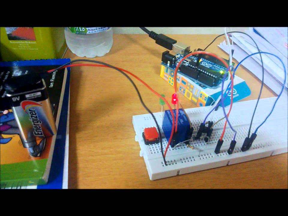 Arduino Uno with 12V Relay