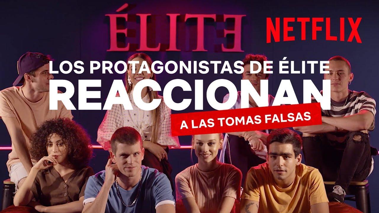 Download Élite Netflix | El reparto reacciona a las tomas falsas de Élite 2