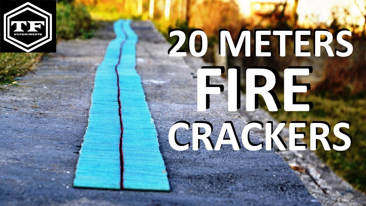 How Long Is A Meter : Meters long firecrackers metara dug rafal youtube