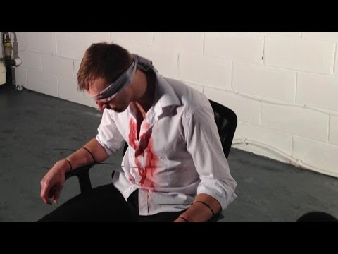 Image result for pictures of a blindfolded man