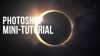 Photoshop Mini-Tutorial: Solar Eclipse