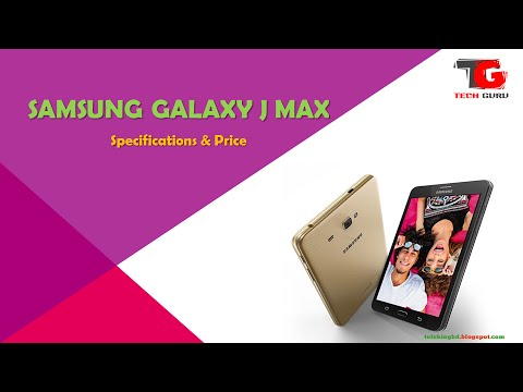 Samsung galaxy j max android tablet specifications price for Samsung j tablet price