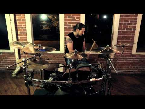 """Within The Ruins - """"Calling Card"""" Drum Play-Through"""