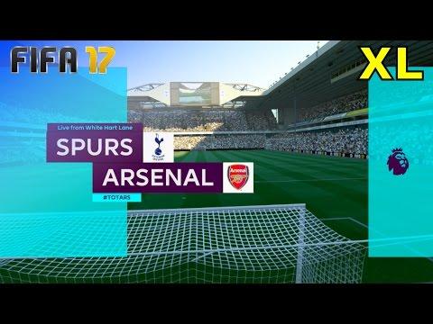 FIFA 17 - Tottenham Hotspur vs. Arsenal @ White Hart Lane (XL Match)